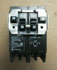 ITE SIEMENS Quad 2 POLE 40//20 AMP Q QT Q24020 CIRCUIT BREAKER chipped