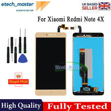 For Xiaomi Redmi Note 4X LCD Display Touch Screen Gold Assembly Replacement Tool