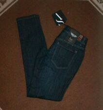 SIMPLY VERA / VERA WANG SKINNY MID RISE DENIM BLUE JEANS SIZE 2 NEW WITH TAGS