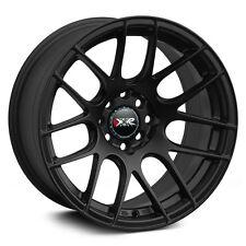 XXR 530 17X7 Rims 5x100/114.3 +35 Black Wheels (Set of 4)