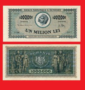 Romania 1000000 lei 1947 UNC - Reproduction