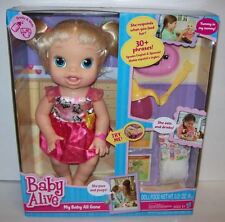 Hasbro Baby Alive My Baby All Gone Interactive Doll Blonde Ready to ship! NRFB!