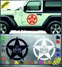US Army Stern Skull Aufkleber Sticker BOX Heckscheiben Jeep 59cm US-AS-4