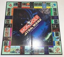 Monopoly Star Wars Classic Trilogy Edition Board Game Parts Parker Money Cards