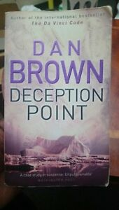 Deception Point by Dan Brown (Paperback, 2004) AU Stock 🇦🇺 free fast shipping