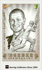 2009-10 Cricket Case Card- Oversize Border Medalist CCSK9 Michael Clarke-Rare