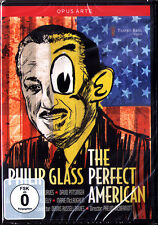 DVD Philip GLASS: THE PERFECT AMERICAN Christopher Purves Marie McLaughlin 2013