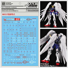 D.L high quality Decal water paste For Bandai MG 1/100 Wing Gundam Zero EW DL058
