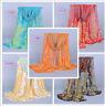 HOT Women's Long Fashion Soft Silk Chiffon Shawl Wrap Wraps Scarf Scarves