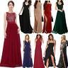 Womens Bodycon Maxi Dress Formal Wedding Party Evening Bridesmaid Prom Gown
