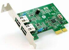 Lenovo BA7902 PCIe Low Profile IEEE1394 2 Port Firewire Adapter Card 89Y1712
