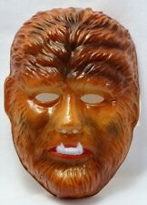 Vintage Universal Monsters The Wolfman Halloween Mask Rubies Wolf Werewolf Y241