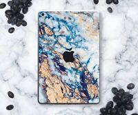 Gold iPad 6 Gen Air 3 Marble Sticker For iPad Mini 5 Decal iPad Pro 9.7 11 12.9