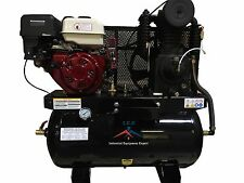Compresor de Gas de 30 Galones Motor 18 Caballos  Montable a Camión de Servicio
