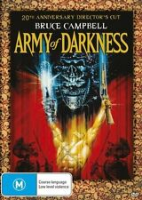 Army of Darkness M15 1992 2013 Bruce Campbell DVD
