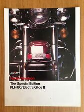 1978 Harley Davidson AMF Brochure FLH-80 Electra Glide II Special Edition