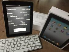 Super Apple iPad 1. Generation 64GB Wi-Fi+3G +Keyboard Dock Apple comme Neuf .8s