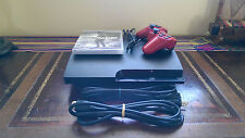 Sony PlayStation 3 Slim Launch Edition 160 GB Charcoal Black Console...