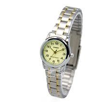 -Casio LTPV001SG-9B Ladies' Metal Fashion Watch Brand New & 100% Authentic