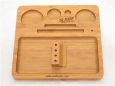 Raw Rolling Smoking Tobacco Bamboo Filling Tray Wooden Box Rawthentic