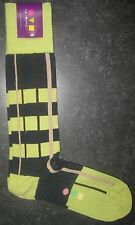 VK Nagrani Men's Luxury Socks Over The Calf One Size Fits Most Lime 011-99