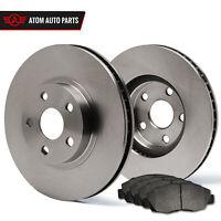 (Rear) Rotors w/Metallic Pad OE Brakes (Fits 2004 2005 2006 2007 Impreza)