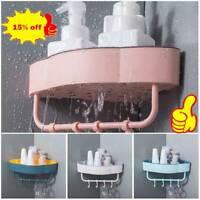Shower Caddy Shelf Bathroom Wall Basket Rack Storage Corner Holder Organizer NEW