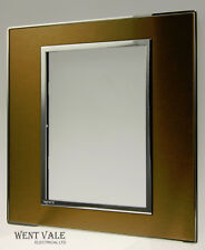 Legrand Arteor Brushed Metal - 5764 80 - 127 x 127mm Surround In Gold Brass