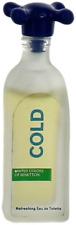 Cold By United Colors of Benetton For Men Miniature EDT Cologne Splash 0.18oz