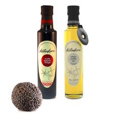 Perfect Truffle x2 - White Truffle Olive Oil + Truffle Balsamic