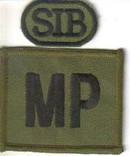 ROYAL MILITARY POLICE COMBAT MP PATCH WITH SIB tab