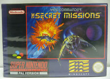 WING COMMANDER THE SECRET MISSIONS - SNES SUPER NINTENDO PAL BOXED