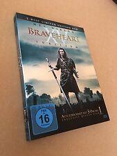 2er DVD Digipack BOX - BRAVEHEART XV Jubiläums LIMITED EDITION - Mel Gibson