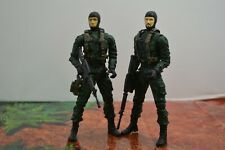 "Plan B Action Figure Special Forces ReSaurus Lot Navy Seals 6"" 1/12 Weapons"