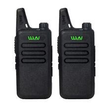 2pcs Wln Kd-C1 Two Way Radio Uhf 400-470Mhz Mini-Handheld Transceiver Toy Walkie