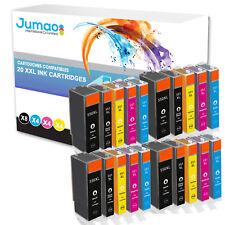 20x xl encre cartouches pour Canon pixma mg5650 mg5655 mg6650 mg7550 mx720