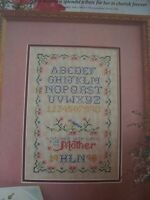A Mother's Sampler OOP Magazine Cross Stitch PATTERN (P)