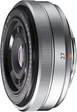 Fujifilm XF Fujinon Fuji Silver Single Focal Camera Lens 27mm F2.8 - Fax1008