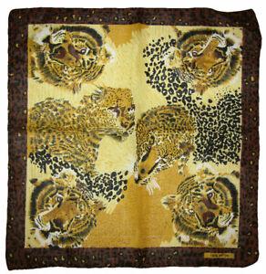 "22""x22"" Safari Cheetah Lion Tiger Animal Print 100% Cotton Bandana"