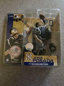 🔥2003 McFarlane's Series 6 Jorge Posada New York Yankees Figure Unopened🔥