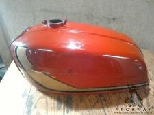 1973-77 Suzuki GT 380  550 Gas/Fuel Tank OEM# 44101-33861 Red w gold stripe