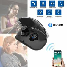 UK TWS Bluetooth Mini Earbuds Stereo Wireless In-Ear Earphone with Charging IPX5