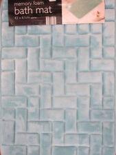 Alfombras de baño alfombras para bañera rectangulares color principal azul