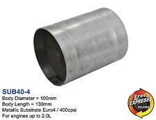 Metall Substrat Universal Katalysator 400 Zeller / 400cpsi 100mm Euro4 SUB40-4