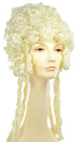 Morris Costumes Women's Marie Antoinette Extravagantly Curly Wig White. LW255WT