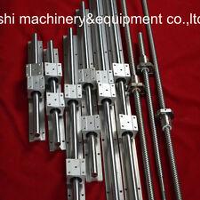 3sets ballscrew SFU RM1605 with ballnut+3 SBR16-300/1350/1350mm