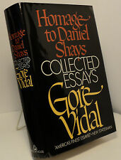 Homage to Daniel Shays - Collected Essays 1952 - by Gore Vidal - First edition