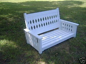 """French Country 60"""" Porch Swing by  SFK Furniture"""