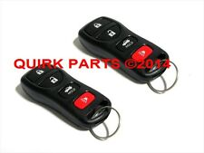 2002-2010 Nissan Altima Maxima Sentra 350Z | Remote Key FOB Set of 2 OEM NEW