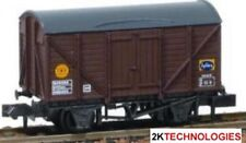 Peco NR-50C - Box Van Banana (Fyffes) BR Brown B881234 N Gauge - Tracked 48 Post